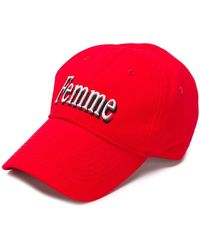 6a0fef3082e Balenciaga - Femme Baseball Cap - Lyst