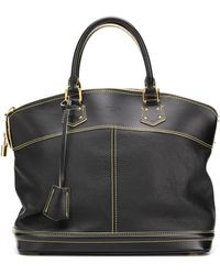 Louis Vuitton Lock It バッグ L - ブラック