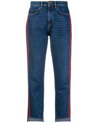 Pinko - Jeans Minou a vita alta - Lyst