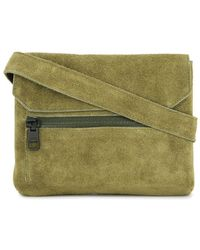AS2OV Flap Shoulder Bag - Green