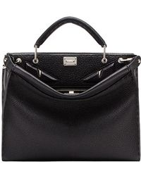 Fendi - Mini Peekaboo Fit Bag - Lyst