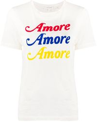 Chinti & Parker Amore Tシャツ - マルチカラー