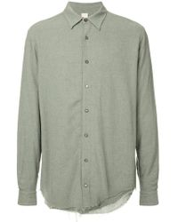 Forme D'expression - Juxtaposed Shirt - Lyst