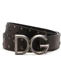 Dolce & Gabbana - Dg スタッズ バックル - Lyst