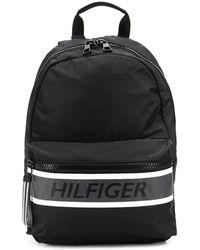Tommy Hilfiger Logo Detail Backpack - Black