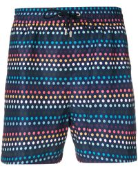 Paul Smith Short de bain Artist - Bleu