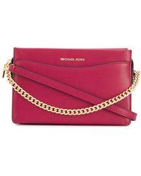 MICHAEL Michael Kors Chain Strap Tote Bag - Red