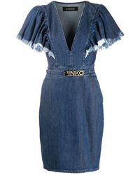 Pinko Vestito denim - Blu