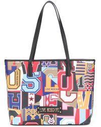 Love Moschino - Love Print Tote - Lyst