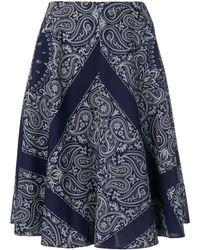 Etudes Studio Steps Bandana スカート - ブルー