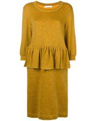 Peter Jensen - Peplum Style Dress - Lyst