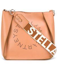 Stella McCartney - Сумка На Плечо С Перфорированным Логотипом - Lyst