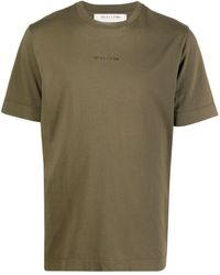 1017 ALYX 9SM ロゴ Tシャツ - グリーン