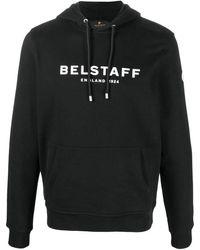 Belstaff ドローストリング パーカー - ブラック