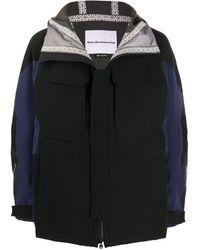 White Mountaineering Gore-tex フーデッド ジャケット - ブラック