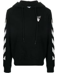 Off-White c/o Virgil Abloh 'Diagonal Arrows' Sweatshirt - Schwarz