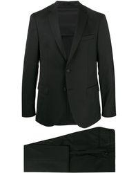 BOSS - マイクロパターン スーツ - Lyst