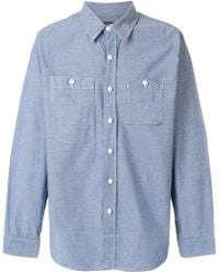 Engineered Garments - Asymmetric Chest Pocket Shirt - Lyst