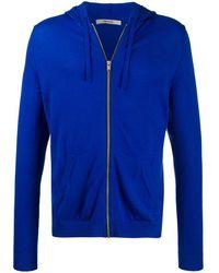 Zadig & Voltaire Clash Hooded Zip-up Cardigan - Blue