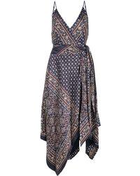 Jonathan Simkhai ラップスカーフ ドレス - マルチカラー