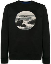 PS by Paul Smith - Logo Print Sweatshirt - Lyst