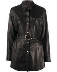 Giuseppe Zanotti シャツジャケット - ブラック