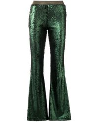Black Coral - Sequinned Trousers - Lyst