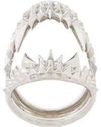 Kasun | Vampire Biter Ring | Lyst