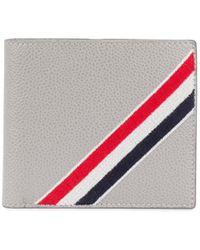 Thom Browne - Rwbストライプ 二つ折り財布 - Lyst
