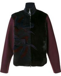 Wooyoungmi - High Neck Zipped Jacket - Lyst