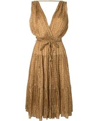 Mes Demoiselles Balsan ドレス - ブラウン