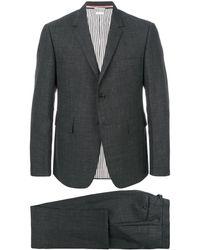 Thom Browne Two-pieces Classic Suit - Grijs