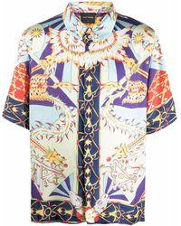 Daily Paper Camicia con stampa - Multicolore