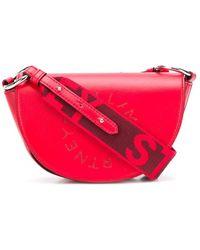 Stella McCartney Маленькая Сумка На Плечо Stella Logo - Красный