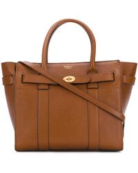 Mulberry Bayswater トートバッグ - ブラウン