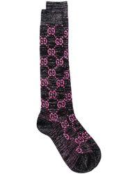 Gucci GG Supreme mid-calf socks - Schwarz