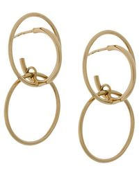 Galilea medium earrings - Metallic Charlotte Chesnais d2e9d01DKu