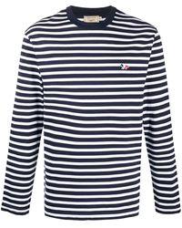 Maison Kitsuné - ストライプ ロングtシャツ - Lyst