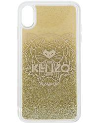 KENZO Telefoonhoesje Met Tijgerlogo - Metallic