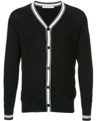 Givenchy | Contrast Stripe Cardigan | Lyst