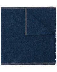 Eleventy Sciarpa bicolore - Blu