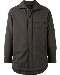 3.1 Phillip Lim Куртка-рубашка Serge - Зеленый