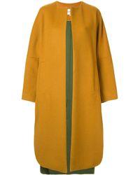 Enfold Oversized Coat - Yellow