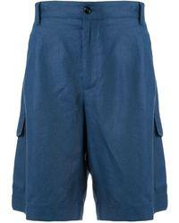 Dolce & Gabbana Effen Bermuda Shorts - Blauw