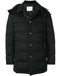 Mackintosh フーデッド パデッドコート - ブラック