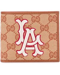 Gucci - New York Yankees Patch Wallet - Lyst
