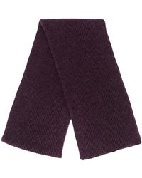 N.Peal Cashmere - リブスカーフ - Lyst