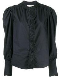 Étoile Isabel Marant Кружевная Рубашка Orlana - Черный