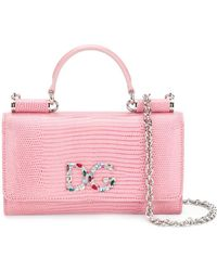 Dolce & Gabbana - Mini Von Wallet Crossbody Bag - Lyst