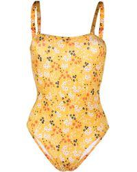 L'Autre Chose Bikini a fiori - Giallo